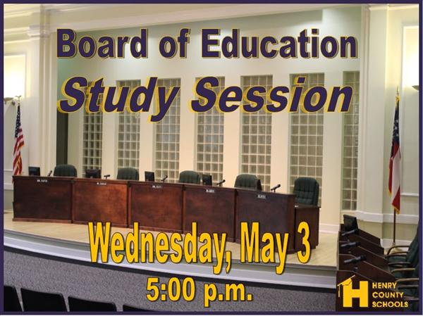 BOE May Study Session