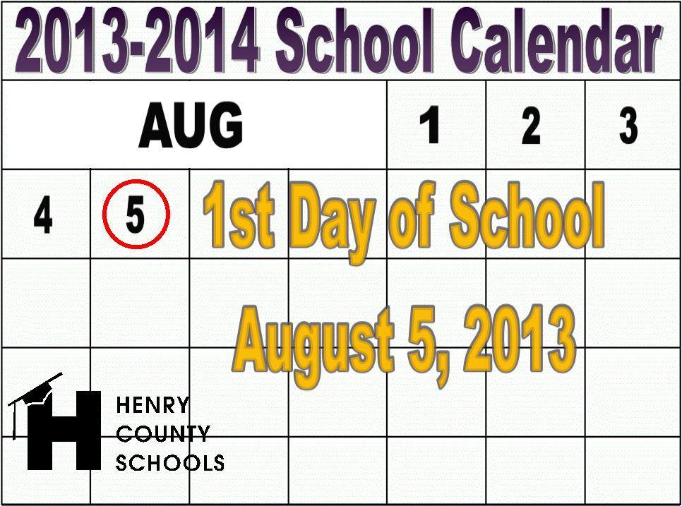 School Starts for Students