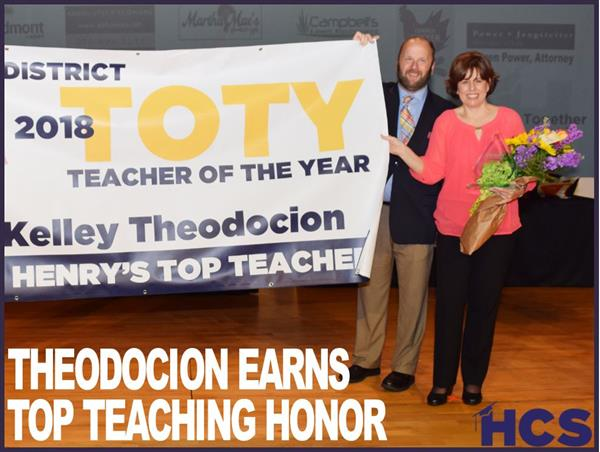 Theodocion Earns Top Teaching Honor