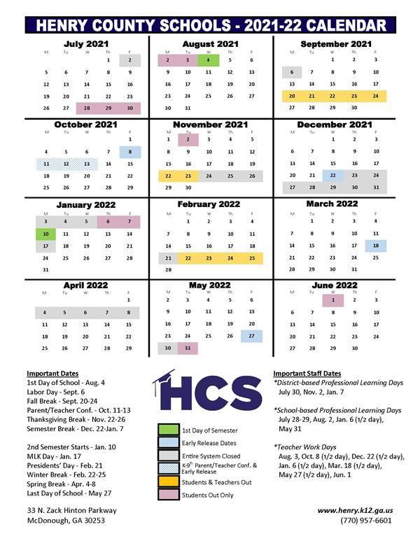 Board of Education Adopts 2021 22, 2022 23 School Year Calendars