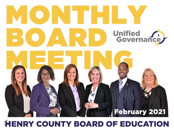 BOE February 2021 Meetings