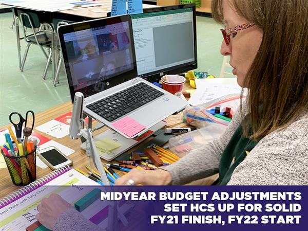 Midyear Adjustments Set HCS up for Solid FY21 Finish, FY22 Start