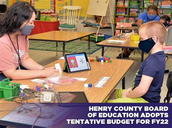 Henry County Board of Education Adopts Tentative Budget for FY22