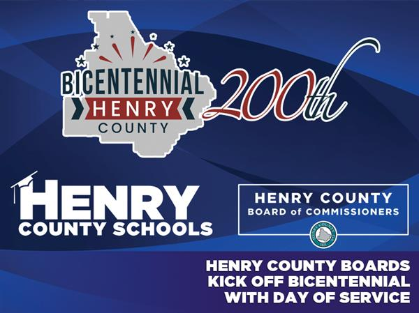Henry County Boards Kick Off Bicentennial with Day of Service