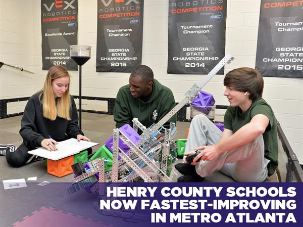Henry County Schools Now Fastest-Improving in Metro Atlanta
