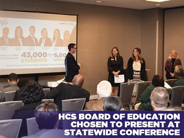 Board of Education Chosen to Present at Statewide Conference