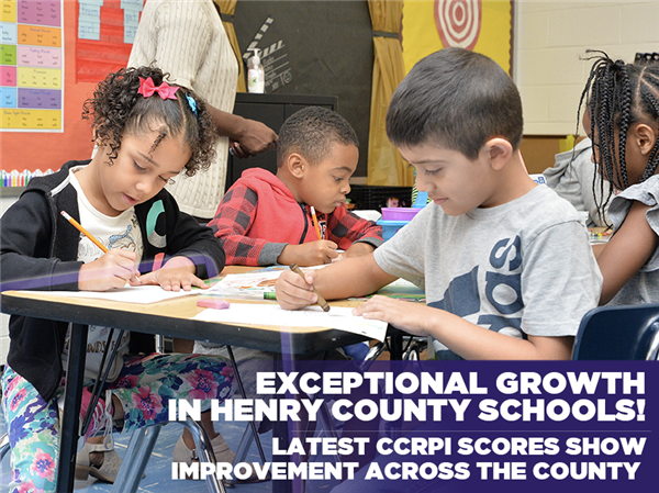 Exceptional Growth Achieved on Latest CCRPI Scores