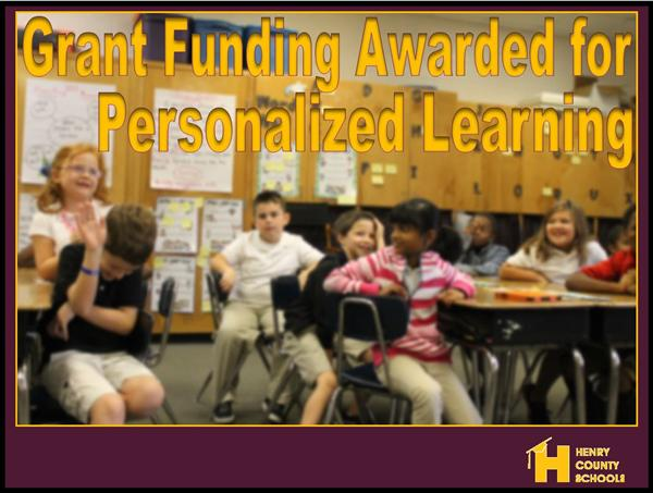 Grant Funds Awarded to HCS