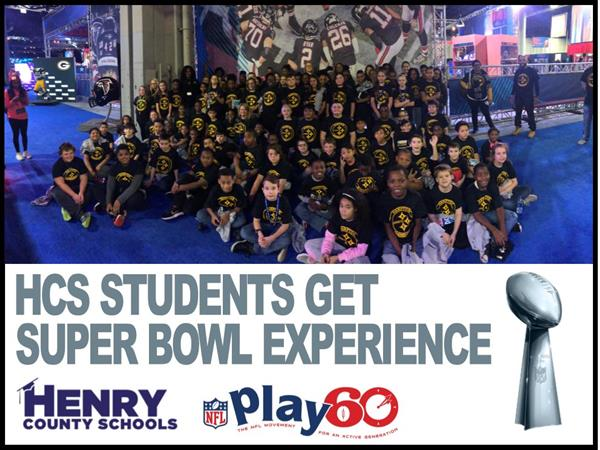 HCS Students Get Super Bowl Experience
