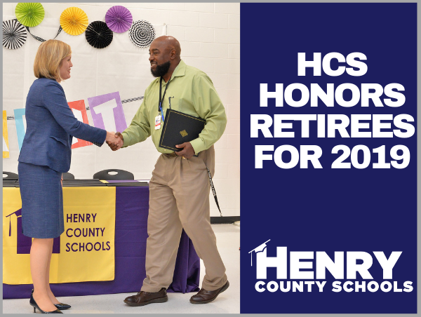 HCS Honors Retirees for 2019 - Henry County Schools