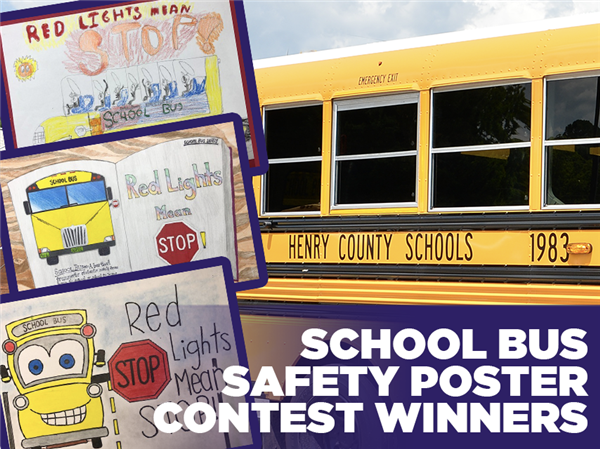 School Bus Safety Poster Contest Winners Announced
