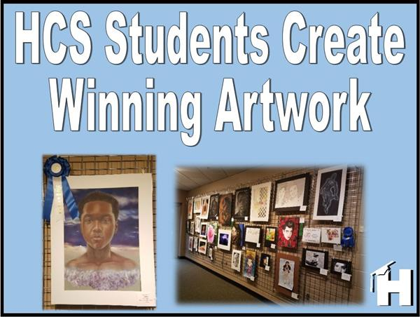 Henry County Schools Art Students Create Winning Pieces