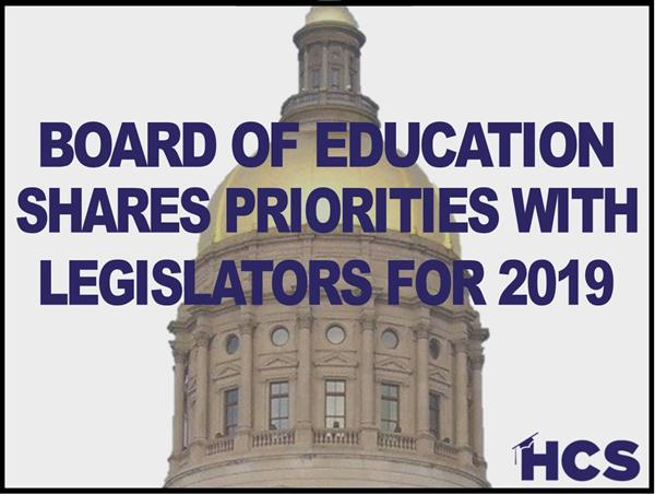 Legislative Priorities 2019