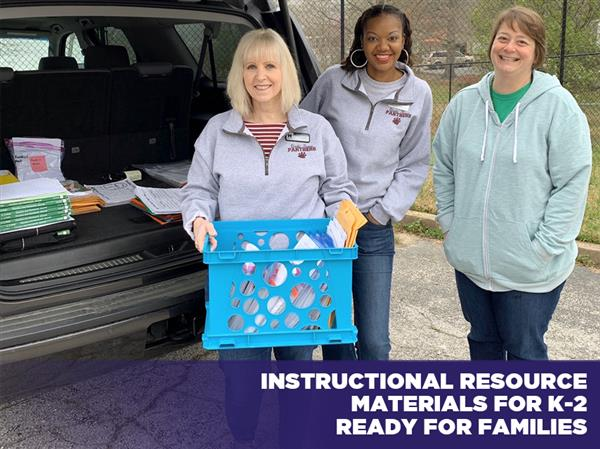 Instructional Resource Materials for K-2 Ready for Families
