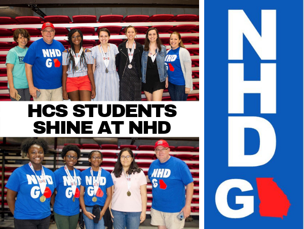 HCS Students Shine at NHD - NHD GA