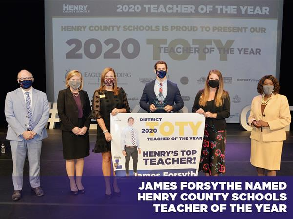 James Forsythe Named Henry County Schools Teacher of the Year