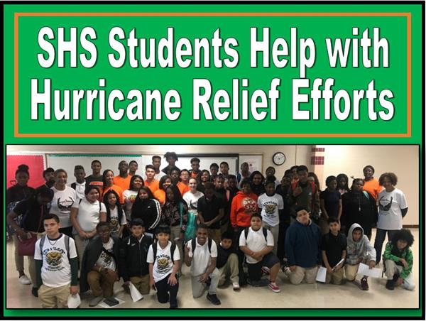 Stockbridge Students Lend Helping Hand After Hurricane Harvey