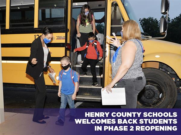 Henry County Schools Welcomes Back Students in Phase 2 Reopening