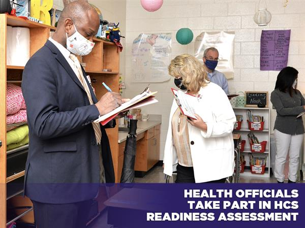 Health Officials Take Part in HCS Readiness Assessment