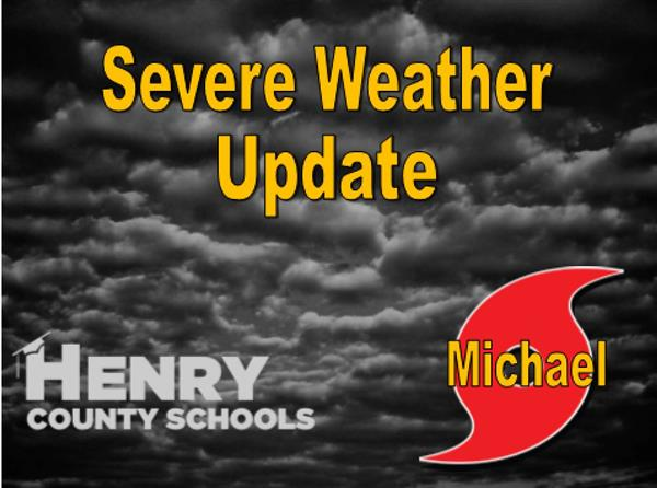 Severe Weather Update 10-10-18
