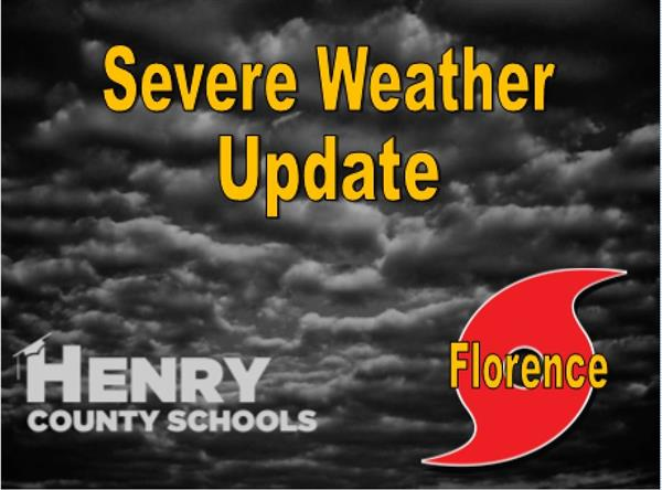 Severe Weather Update - HCS - Florence