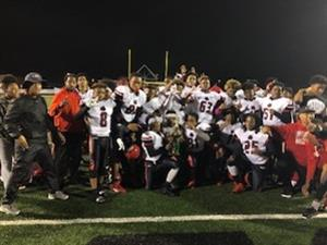 DMS 8th Grade Football Team Clinches County Championship