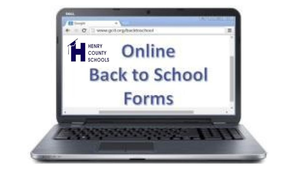 Online Back to School Forms