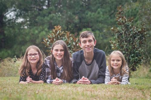 Our 4 Kiddos: Austin, Maddie, Kylee and Chloe
