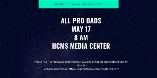 Next Meeting of All Pro Dads