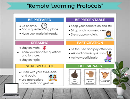 Remote Learning Protocols