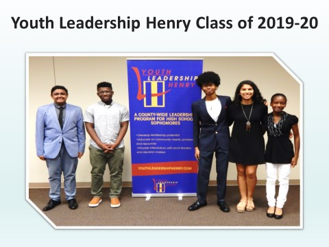 Youth Leadership Henry Class of 2019-20