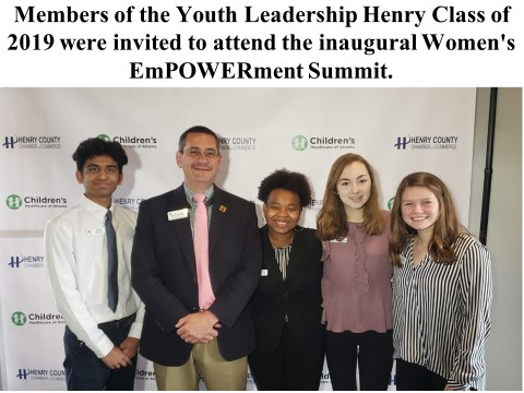 Congratulations Youth Leadership Henry Class of 2018