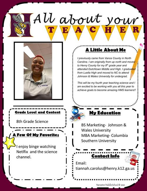All about your Teacher