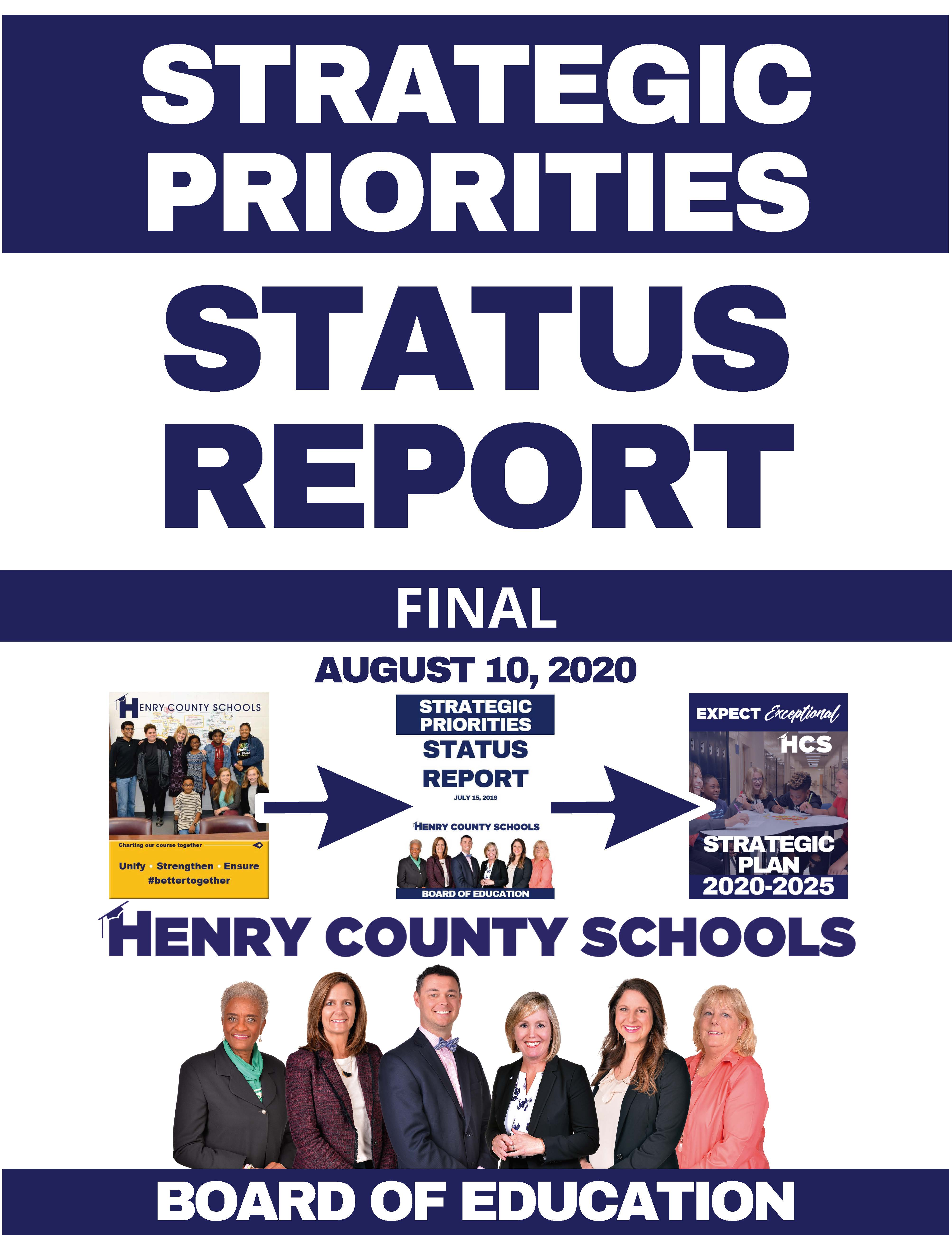 Strategic Priorities Status Report