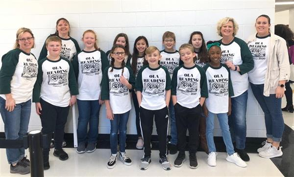 So proud of the hardworking Ola Reading Squad! We placed 2nd in the county Helen Ruffin Reading Bowl