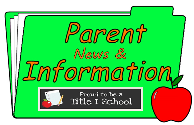 Title I Parent News and Information!