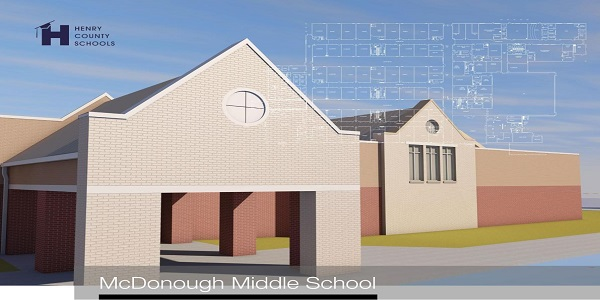 Our New School - McDonough Middle!