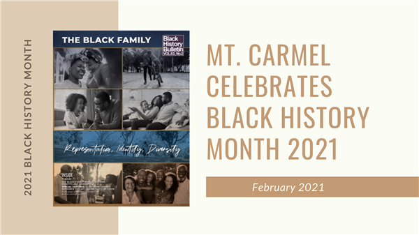 Join MCE In Celebrating Black History Month