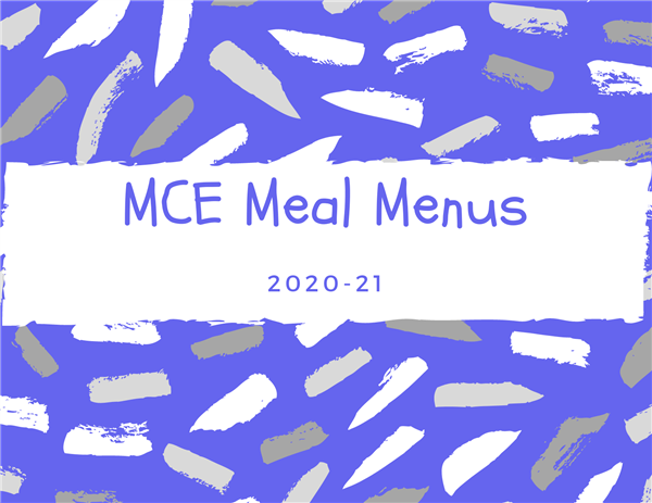 MCE February Meal Menus
