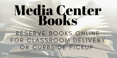 Students can reserve books online for classroom or curbside delivery