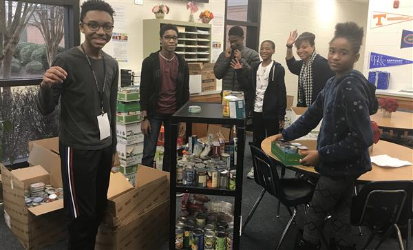 ARMS Ambassadors Annual Can Food Drive