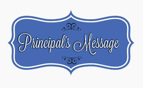 March Message from Mrs. McRae