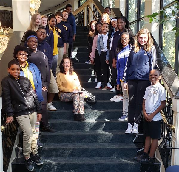 ELMS Visits Spivey Hall