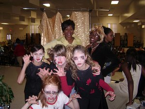 Ms. Boyd and the drama crew