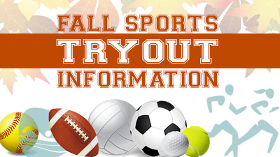 Sign Up for Fall Athletics!