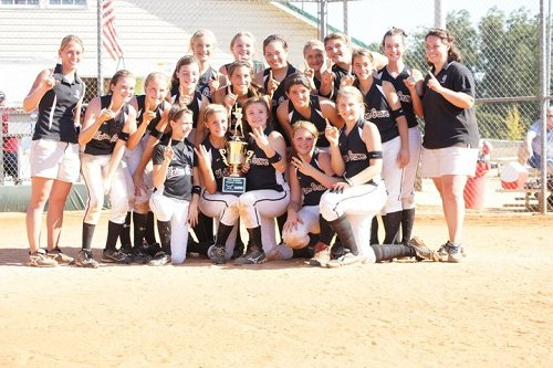 2010 Softball County Champions