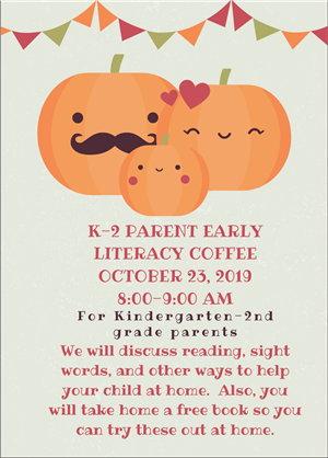 k2 parent literacy