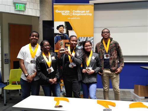 engineering students who place third at the Georgia Tech Engineering Olympics