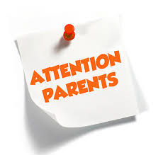 Spring Parent Input Meeting           May 2, 2019 1:20 pm - 2:20 pm.       All Families & Stakeholders are welcome to participate