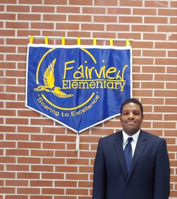 Welcome Mr. Brian Mincey, Assistant Principal of Fairview Elementary School